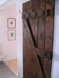 Vintage Door Into Coat Rack | Vintage doors, Doors and ...