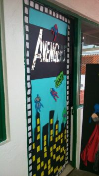1000+ ideas about Superhero Door on Pinterest | Superhero ...