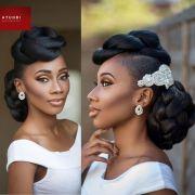 afro wedding hair ideas