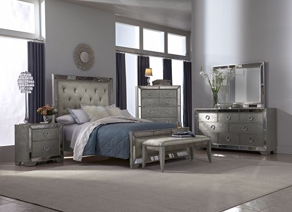 American Signature Furniture  Angelina Bedroom Collection