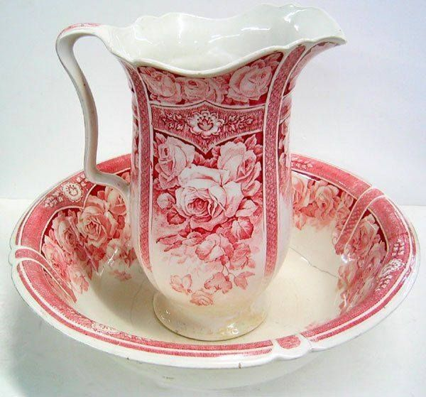 241 best images about Victorian Wash Pitcher  Basin on Pinterest