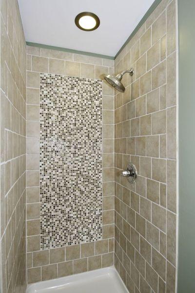 small bathroom shower tub tile ideas Splendid Image Of Bathroom Decoration Using Stand Up