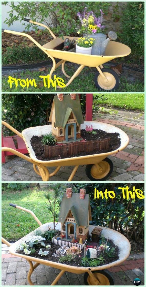 819 Best Images About FAIRIE & GNOME GARDEN On Pinterest Gardens