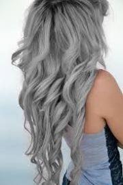 dyed gray hair - google