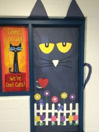 Think Spring! Pete The Cat for your classroom door ...