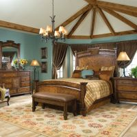 Country Aqua Rustic Bedroom!!! | Karen N Lonnie Country ...