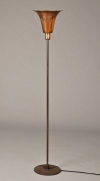 Louis Poulsen. Bridge floor lamp. Art Deco floor lamp with ...