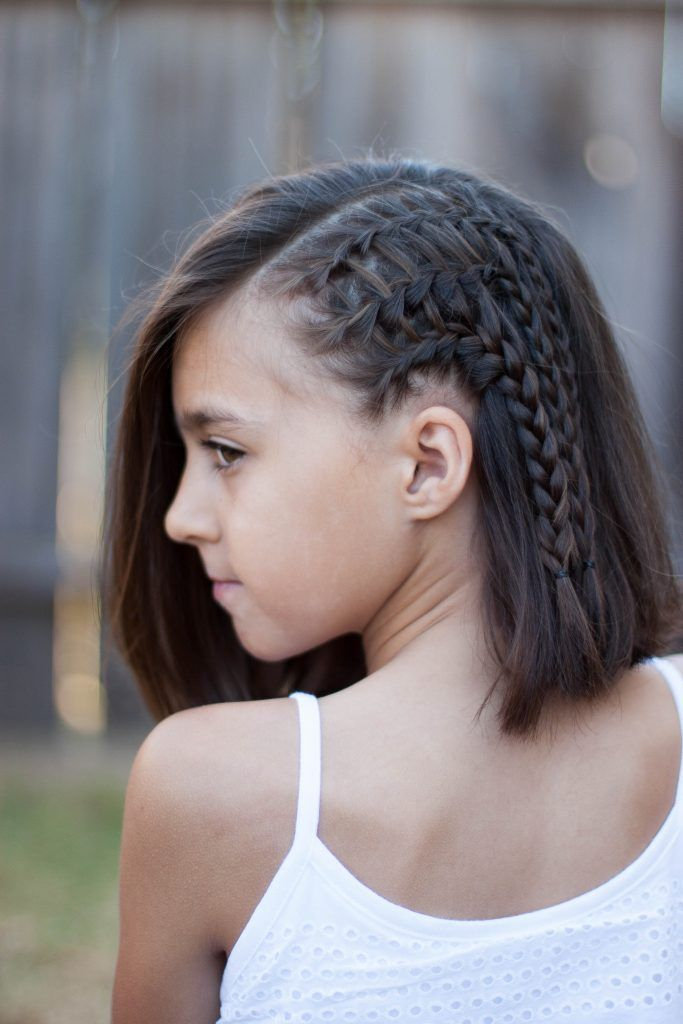 25 Best Ideas About Braids For Short Hair On Pinterest