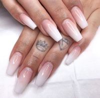25+ best ideas about Ombre French Nails on Pinterest ...