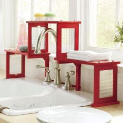 Two Tier Kitchen Drawer Organizer Mixer Aid Two-tier Over-the-sink Shelf | Cool! Pinterest ...