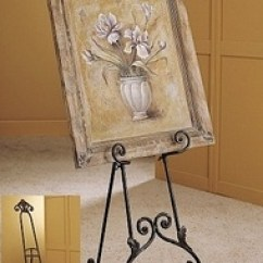 Wrought Iron Rocking Chair Quik Shade Easel - Picture Floor Decorative | Making My Home (3) Pinterest ...