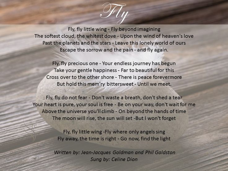 17 Best Images About Funeral Poems For Child On Pinterest