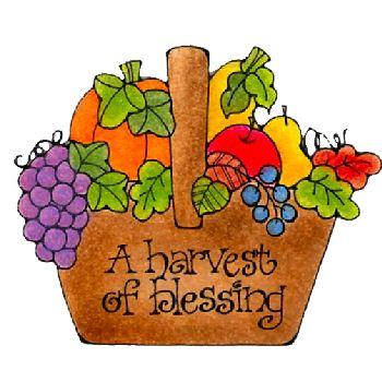 harvest blessings autumn clip