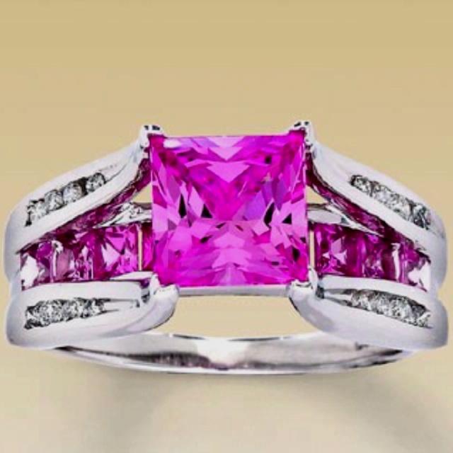 78 ideas about Purple Wedding Rings on Pinterest  Purple