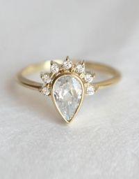 25+ best Unique Wedding Rings ideas on Pinterest | Wedding ...