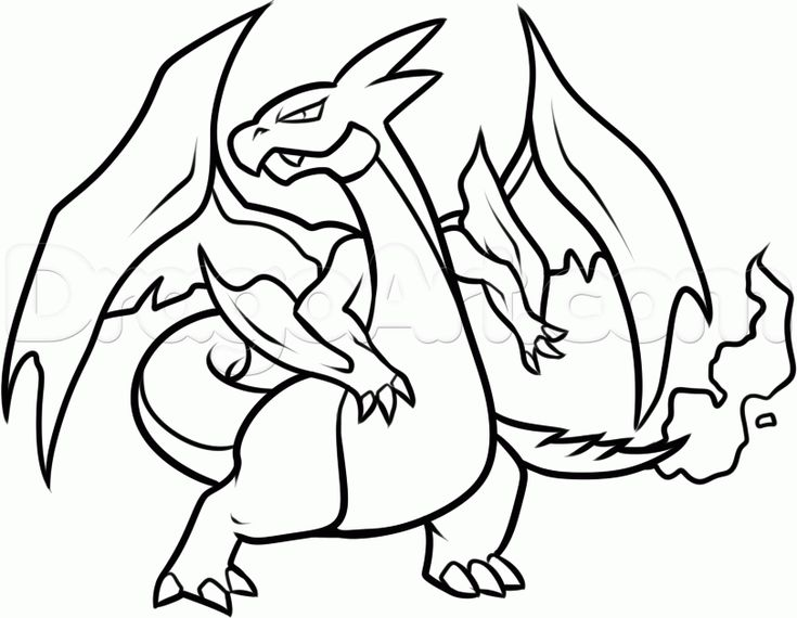 printable 18 pokemon coloring pages charizard 37
