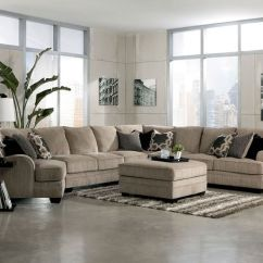 Sofa With Cuddler And Chaise Garden Furniture Uk Huge Sectionals | Large Modular Fabric Sectional ...