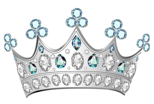 Diamond Crown PNG Clipart Picture Imágenes hadas
