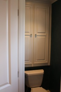 Custom Bathroom Cabinets Over Toilet - WoodWorking ...