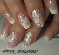 1000+ ideas about Wedding Nails Art on Pinterest | Glitter ...