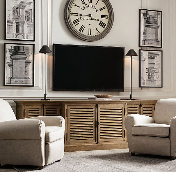 25+ best ideas about Tv Console Decorating on Pinterest