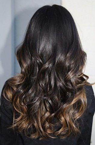más de 1000 ideas sobre balayage black hair en pinterest balayage pelo negro y pelo