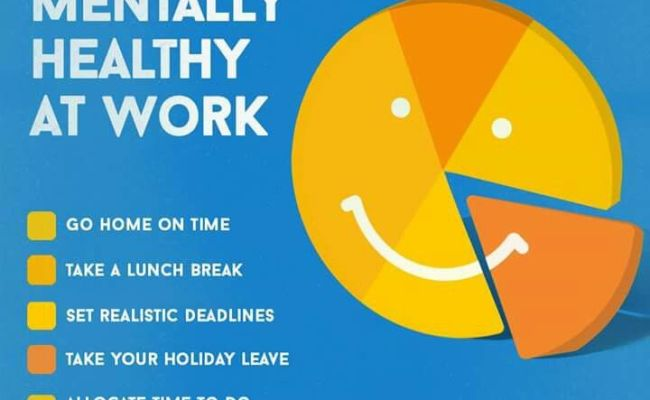 How To Stay Mentally Healthy At Work Self Care
