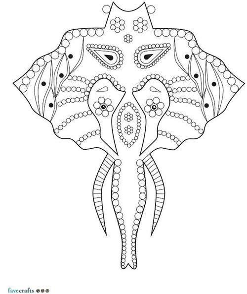 17+ images about Elephant Coloring Pages for Adults on