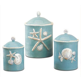 Shell Canisters Pinteres