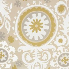 Grey And Yellow Curtains For Living Room Affordable Tables Damask Curtain Panels Tan Natural Light Brown Taupe ...