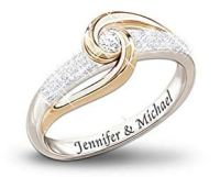 1000+ images about Diamond Promise Rings for Couples in ...