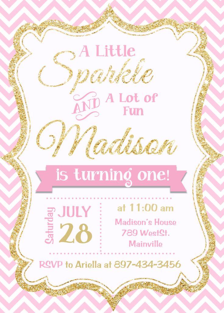 1st birthday invitations templates