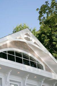 Transom window in gable end | Window Design | Pinterest
