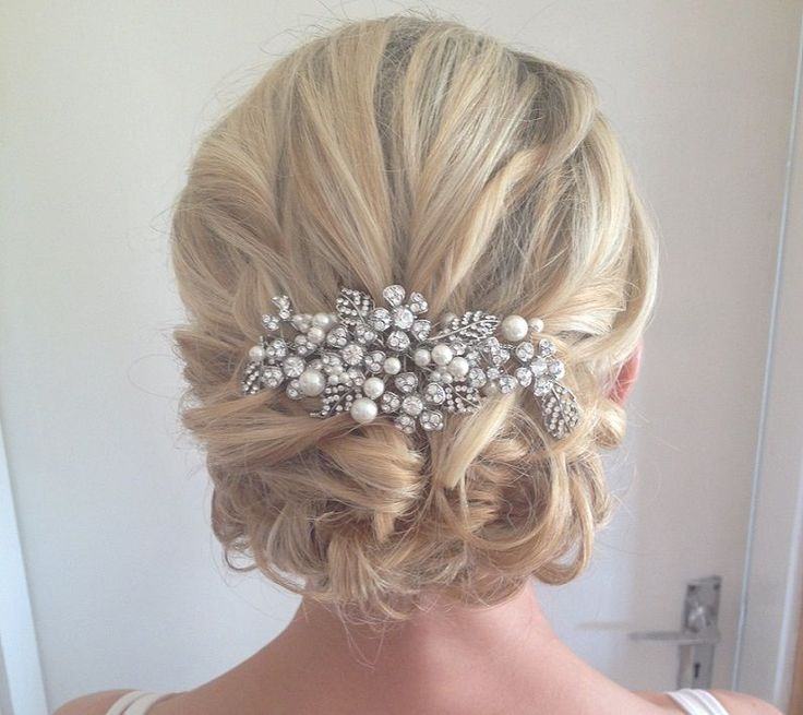25+ best ideas about Bride hairstyles on Pinterest