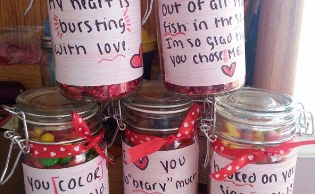 Candy Jars For The Boyfriend Gift Ideas Pinterest