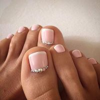 25+ best ideas about French pedicure designs on Pinterest ...