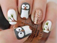 1000+ ideas about Owl Nail Designs on Pinterest   Owl ...