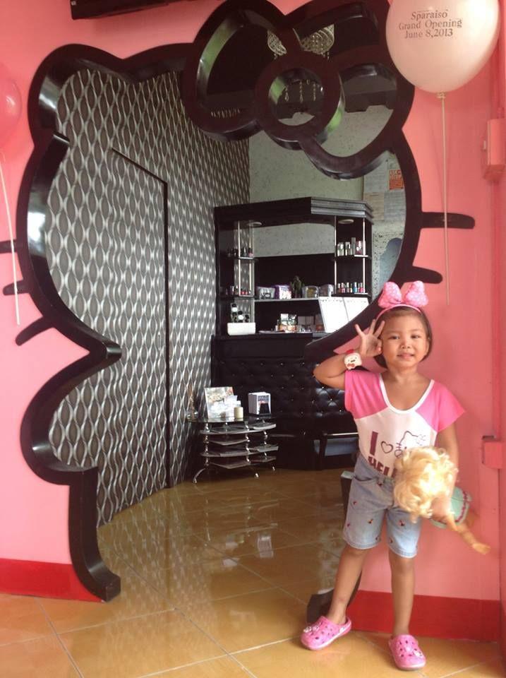 HELLO KITTY THEME SALON IN BULACAN PHILIPPINES  HELLO