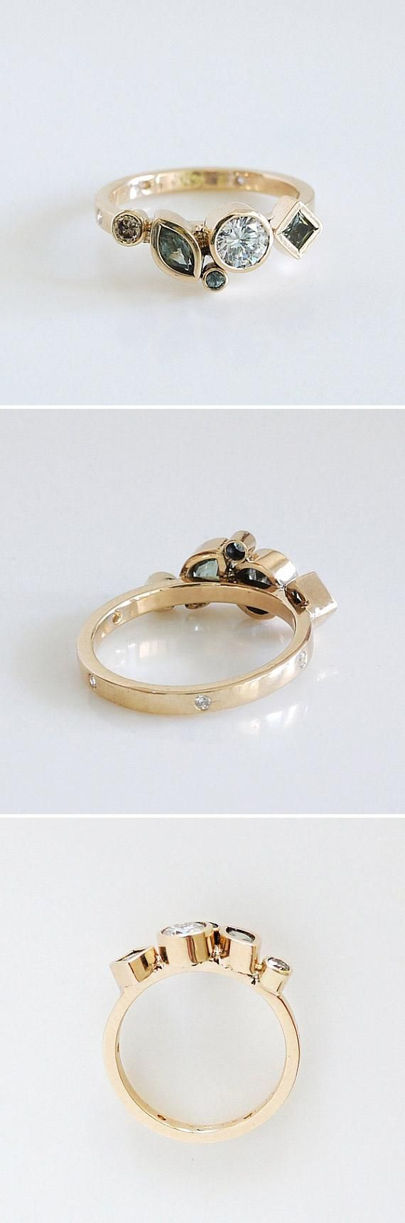 25 best ideas about Cluster ring on Pinterest  Cluster