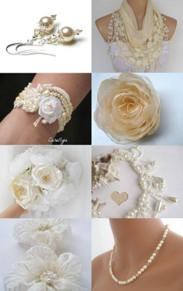 Creamy White Wedding by Bonnie's Sew Crazy