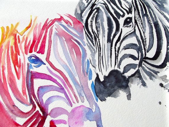 1000+ Ideas About Zebra Painting On Pinterest