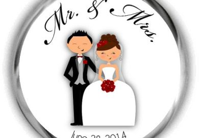 Etsy Wedding Stickers