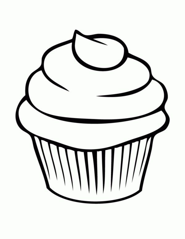 name tags Bread Cupcake Coloring Pages Picture 7