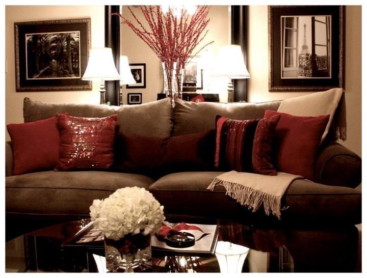 burgundy leather sofa and loveseat benchcraft breville reviews 242 best red brown living room images on pinterest