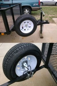 Fulton Hi-Mount Spare Tire Carrier - Fits 4- and 5-Lug ...