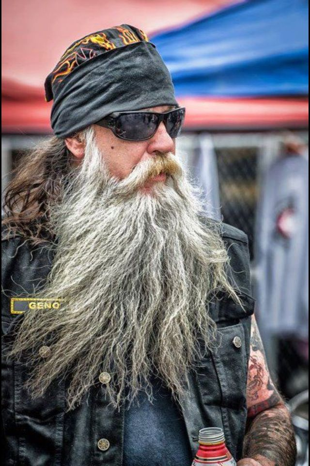 Biker beard  Classic Biker Style  Pinterest  The natural Pirates and Caribbean