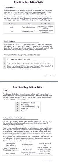 108 best images about Emotion Regulation (DBT) on