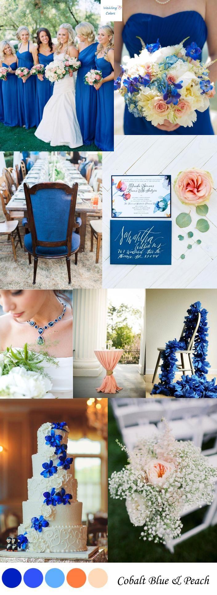 10 best ideas about Cobalt Blue Weddings on Pinterest  Royal blue weddings Royal blue color