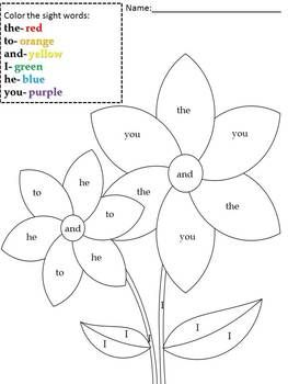 Best 25+ Sight word worksheets ideas on Pinterest