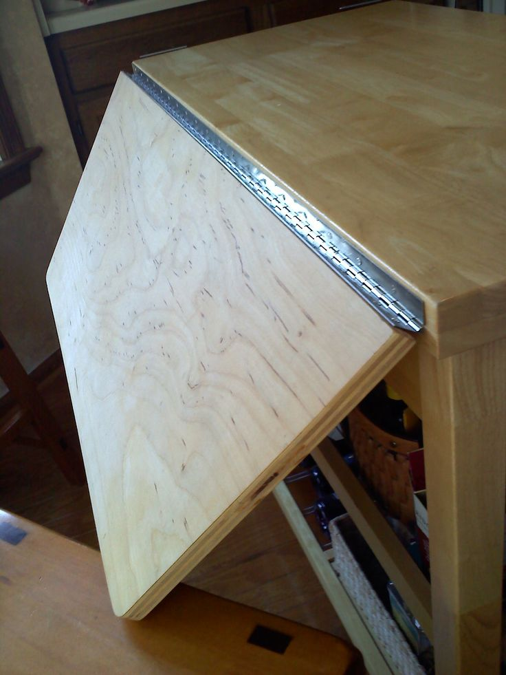 diy rolling kitchen island trash can for a simple purchased from lowes, add ...